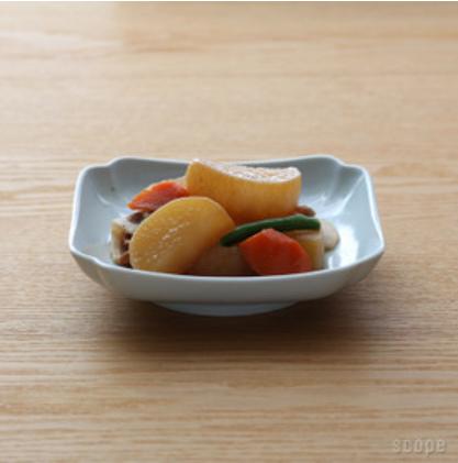木瓜角皿 正角