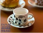 ブラックパラティッシ コーヒーカップ&ソーサー アドキッチン