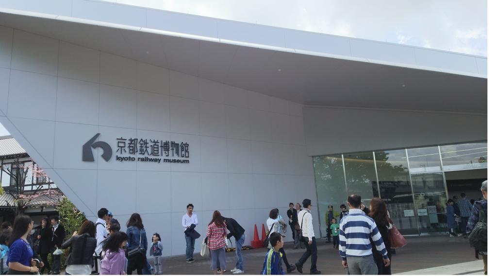 京都鉄道博物館入口